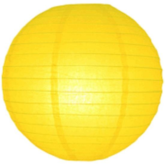 Lampion geel 35 cm