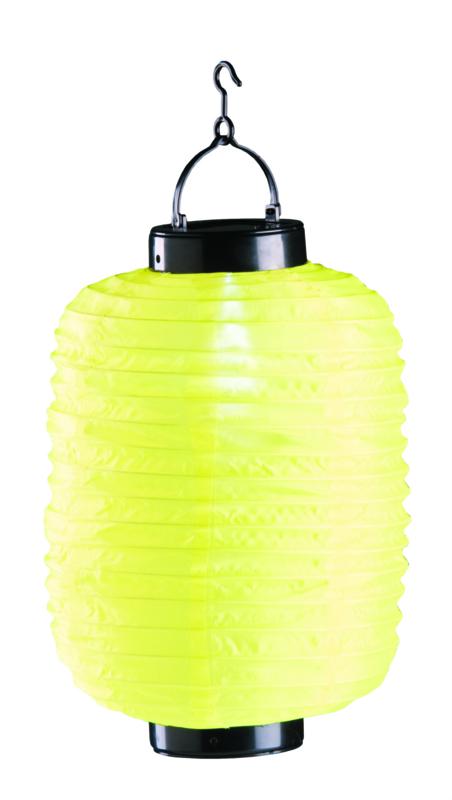 Lampion Solaire jaune 35 cm