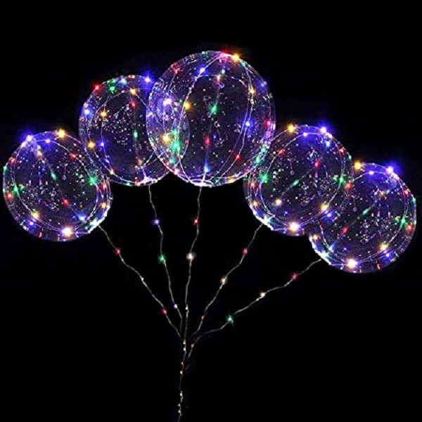 LED Ballon XL - multicolor - 40 cm