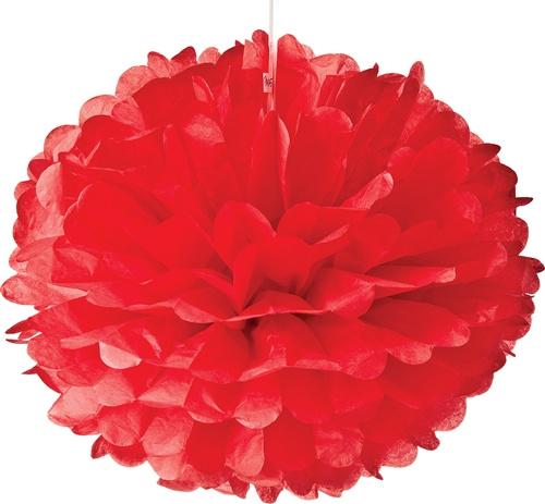 5 x Rode PomPom 35 cm