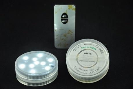 LED Dekoration unit 7 cm warm/weiß