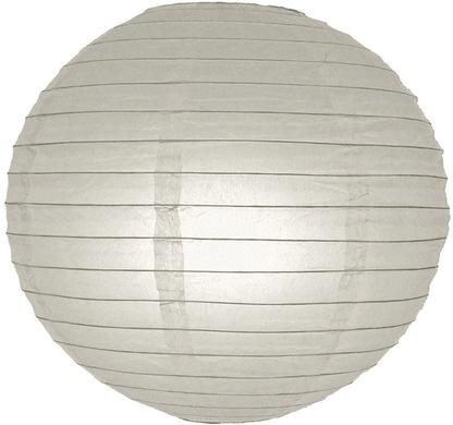 Lampion grijs 45 cm