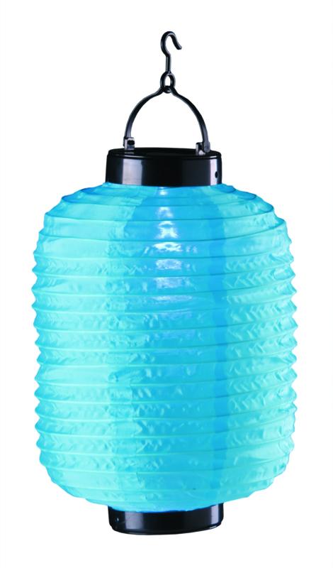 Lampion Solaire bleu  35 cm