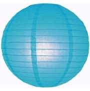 Lampion blauw 45 cm