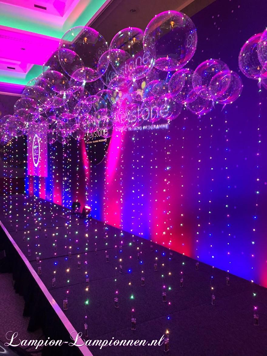 LED Ballon XL à l'événement corporatif Okura hôtel congrès style décoration ballon d'hélium flottant avec LED lumière décoration de fête 1