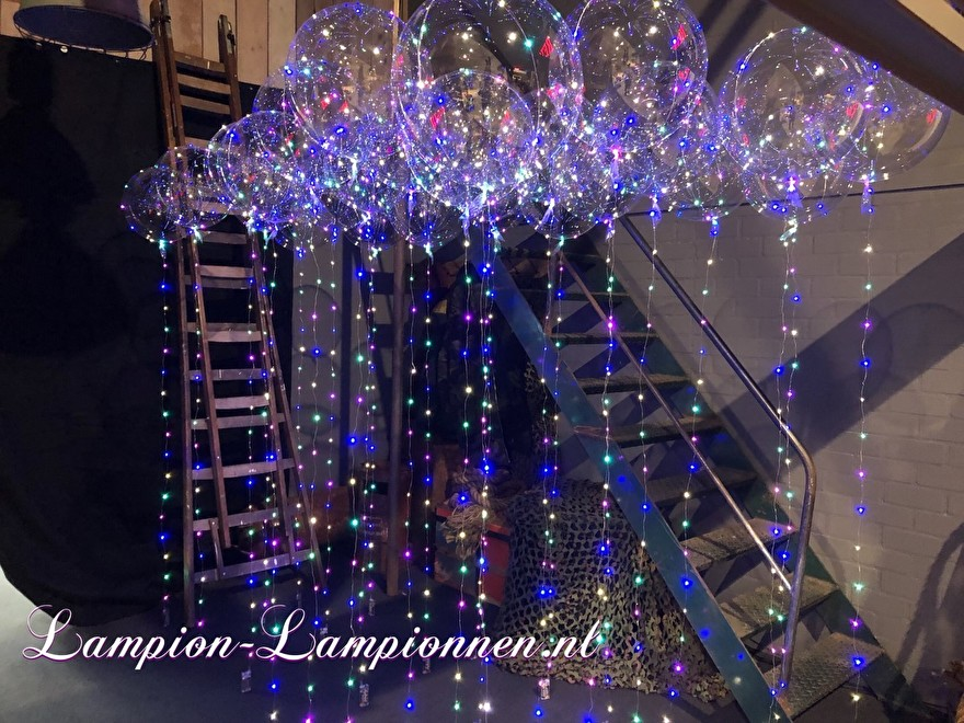 LED Ballon, verlichte helium ballon, balon met lampje, feest ballon, led unit ballon huwelijk decoratie eventversiering, goedkope led ballon, ballon mit led avec led, party deco deko veren erleuchtet bobo balloon luft ballon 6