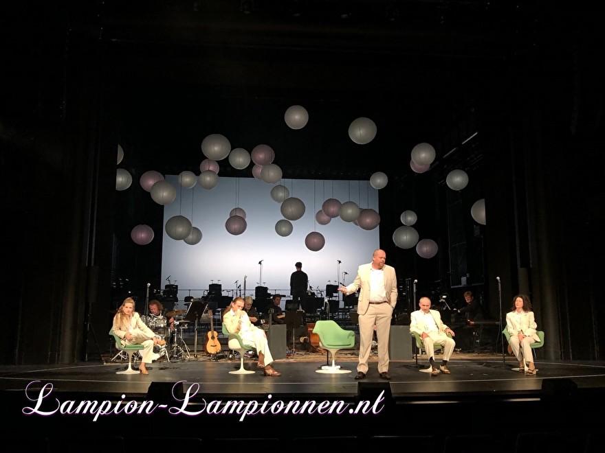 große weiße Laterne 90 cm, große Papierlaternen später, große Laternen und papierblanc weiß Ereignisdekoration hochtzeit deko Theater Bremen Stellen Sie sich John Lennon Bühnenstil vor 3