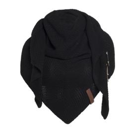 Coco omslagdoek in zwart