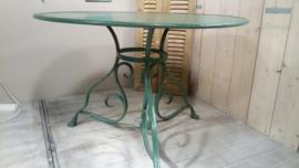 Ijzeren ronde tafel