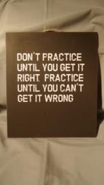 Practice | Metaal