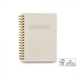 Blah blah blah Kidsquotes - Linen Ivory