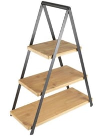 Gusta 3 laags etagere Bamboe