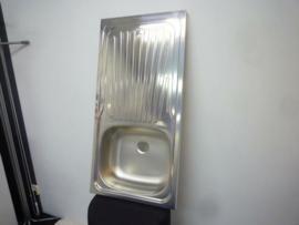 Complete keukenblok 100cm x 50cm WIT