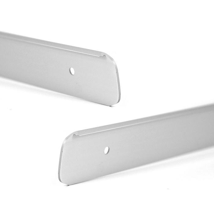 Set aluminium profielen voor werkblad 38mm