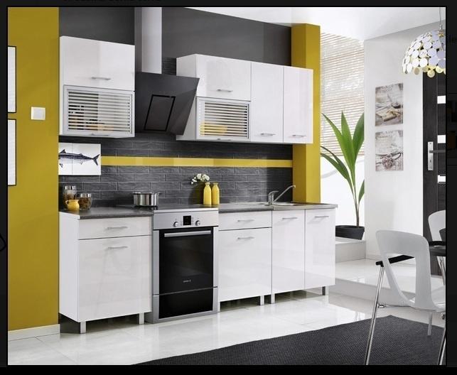 FIOLA hoogglans keukens 200cm