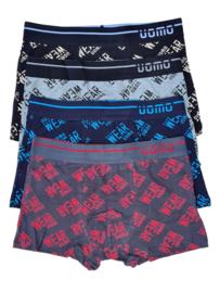 UOMO underwear text