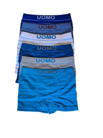 UOMO kids blue stripes