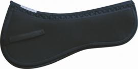 Zadelonderlegger Equest V3 pad - Zwart, L