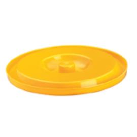 Deksel Lami-Cell emmer, geel.