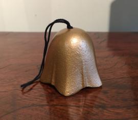 """Geluksbelletje """"Tulp"""" in bronskleur (nieuw model)"""