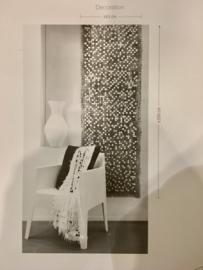 """""""KOBE"""" deco paper voor raam / muur bekleding afmeting: 200-63 cm."""