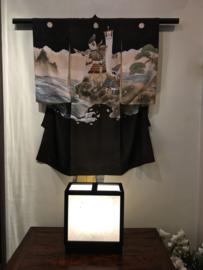 """Lamp """"Tokyo"""" (nieuwe collectie)  H. 32 cm-30 - 16.5 cm diep."""