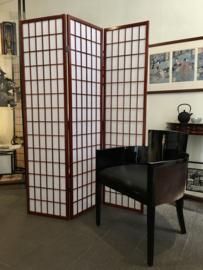 Japans kamerscherm houten frame met Japans papier