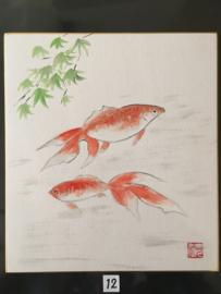 Nieuw binnengekomen collectie Japanse prenten diverse voorstellingen Showa-periode ( 1930-heden) afmetingen: 24-27 cm.