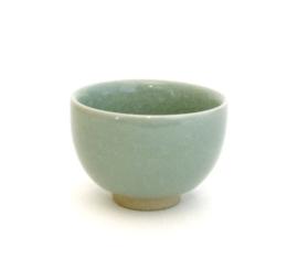 Theekopjes celadon porselein