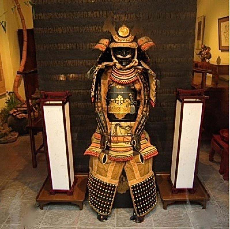 Groot samourai harnas