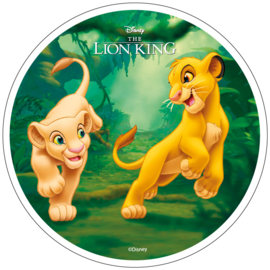 Disney The Lion King ouwel taart decoratie ø 21 cm. C