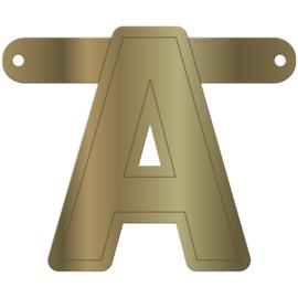 Letters en cijfers goud