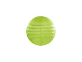 Lampion lime groen ø 20 cm.