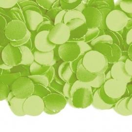 Confetti lime groen 100 gr.
