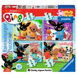 Bing My First Puzzels 4in1 (2-3-4-5 stukjes)
