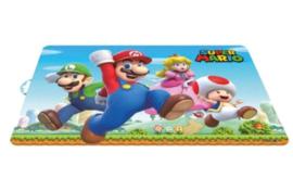 Super Mario Bros placemat