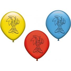 Sonic The Hedgehog ballonnen 8 st.