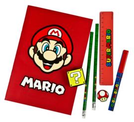 Super Mario Bros schrijfset 7-delig