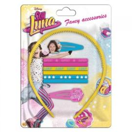 Disney Soy Luna haar accessoires set