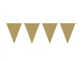 Vlaggenlijn goud 10 mtr.