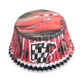 Disney Cars cupcake vormpjes Lightning McQueen 50 st.