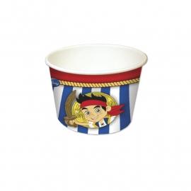 Disney Jake en de Nooitgedacht piraten ijs- snoep bakje 8 st.