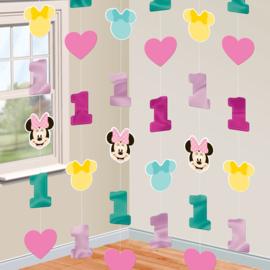 Disney Minnie Mouse draaislingers 1e verjaardag