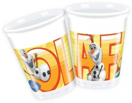 Disney Frozen Olaf bekertjes summer 8 st.