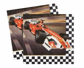 Formula Race servetten 33 x 33 cm. 20 st.