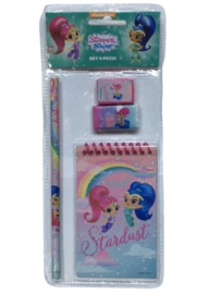 Shimmer and Shine schrijfset Magic Stardust