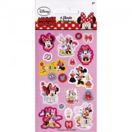 Disney Minnie Mouse uitdeel stickervel 6 st.