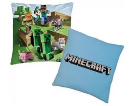 Minecraft sierkussen 40 x 40 cm.