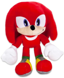 Sonic The Hedgehog Knuckles pluche knuffel 30 cm.