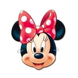 Disney Minnie Mouse maskers 6 st.